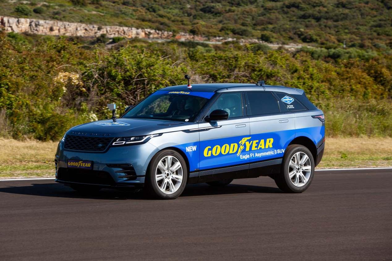 Goodyear Eagle F1 3 SUV: el nuevo neumático premium, a prueba