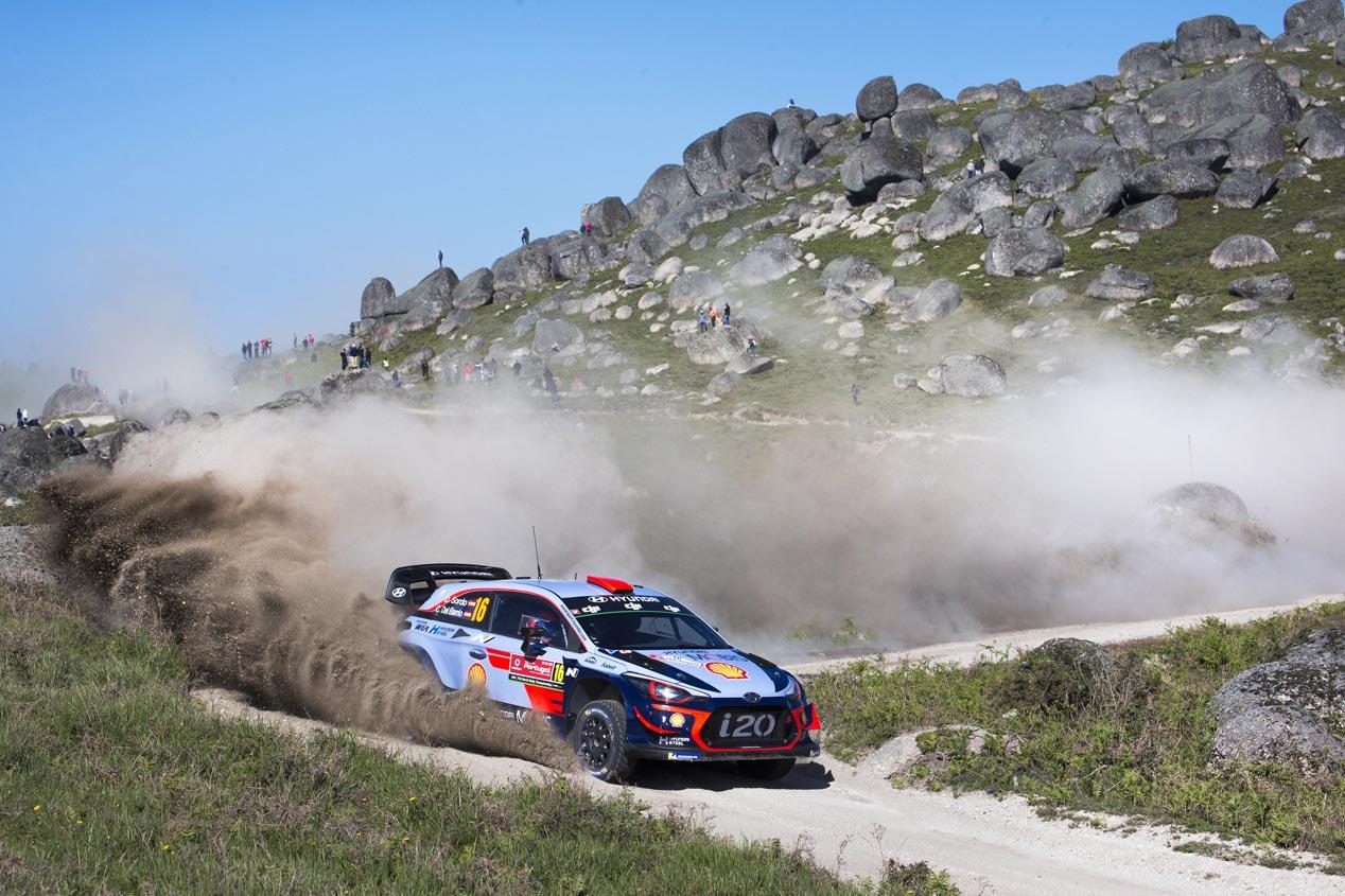 Las mejores fotos del sábado en el Rally de Portugal 2018