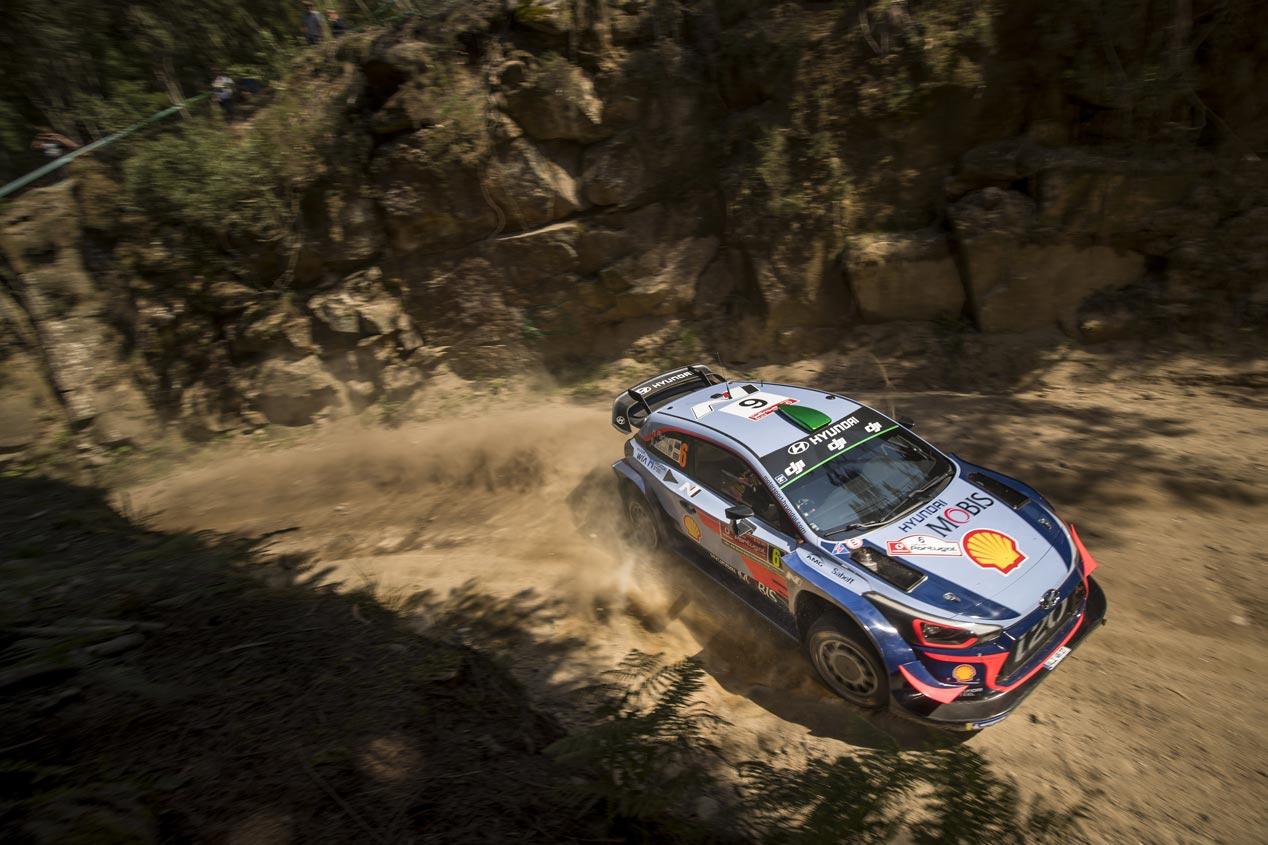 Rally de Portugal 2018: las mejores fotos del equipo Hyundai