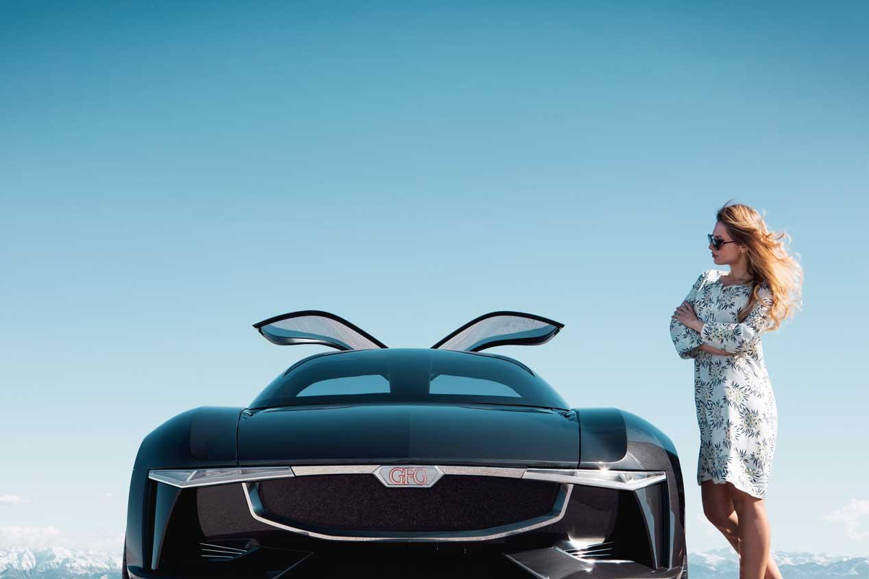 Giugiaro presentará en Villa d'Este su prototipo Sibylla Concept Car