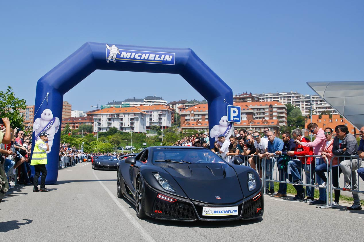 Superdeportivos Cantabria 2018: 188 coches reunidos en Santander