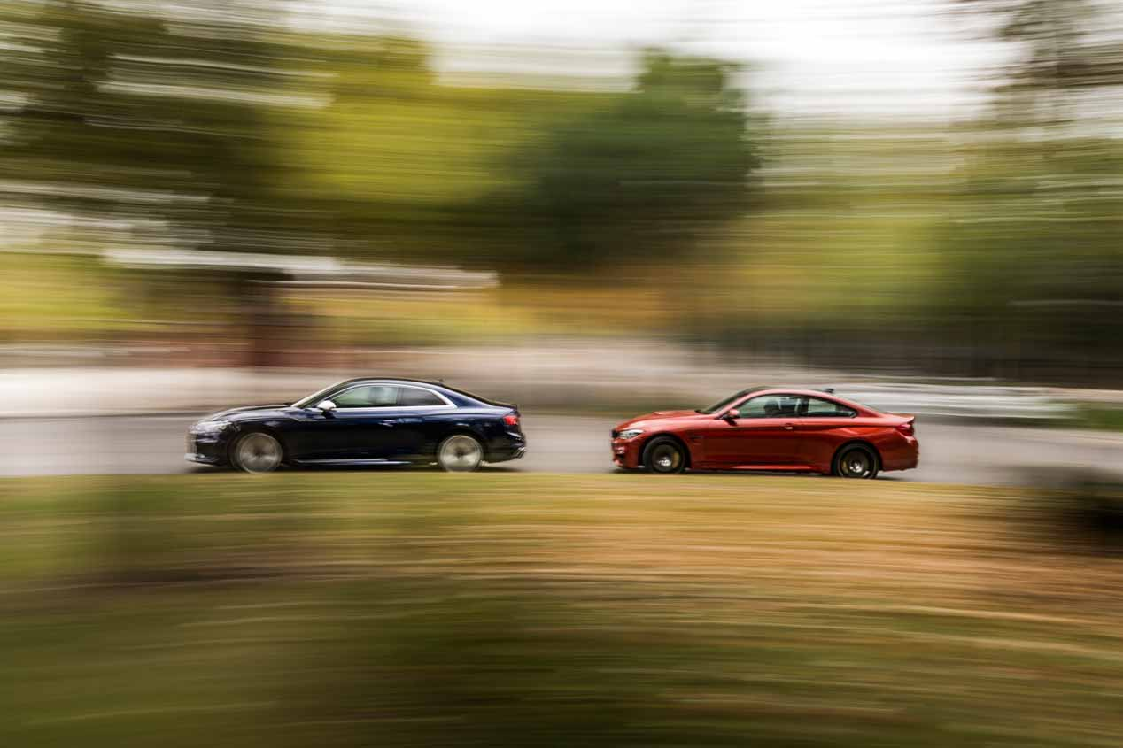 Comparativa: Audi RS 5 Coupé vs BMW M4 Competition