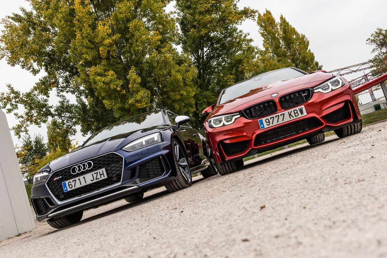 Comparativa: Audi RS 5 Coupé vs BMW M4 Competition