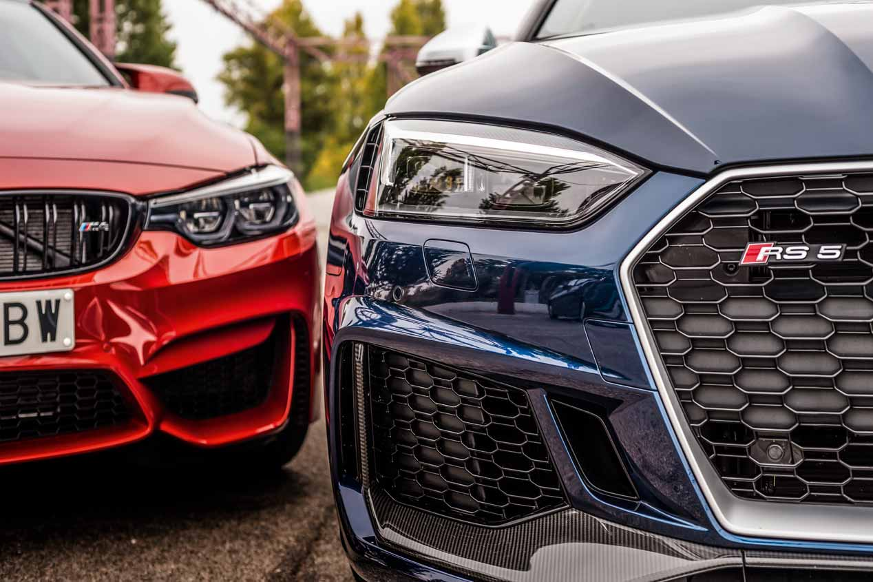 Audi RS 5 vs BMW M4