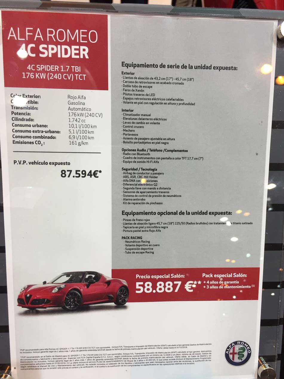 Ofertas para comprar coche en el Salón Madrid Auto