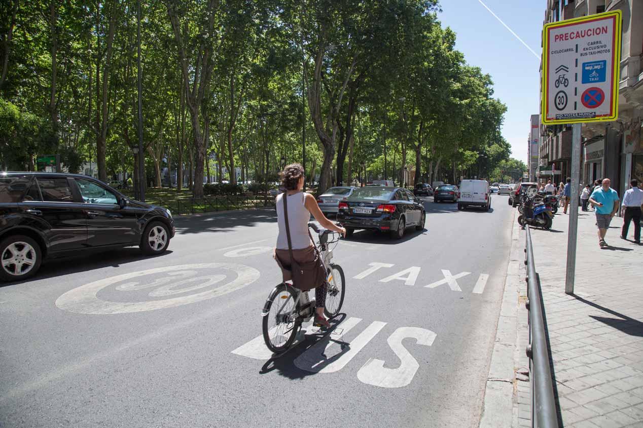 Cómo mejorar la seguridad de ciclistas, peatones y motociclistas