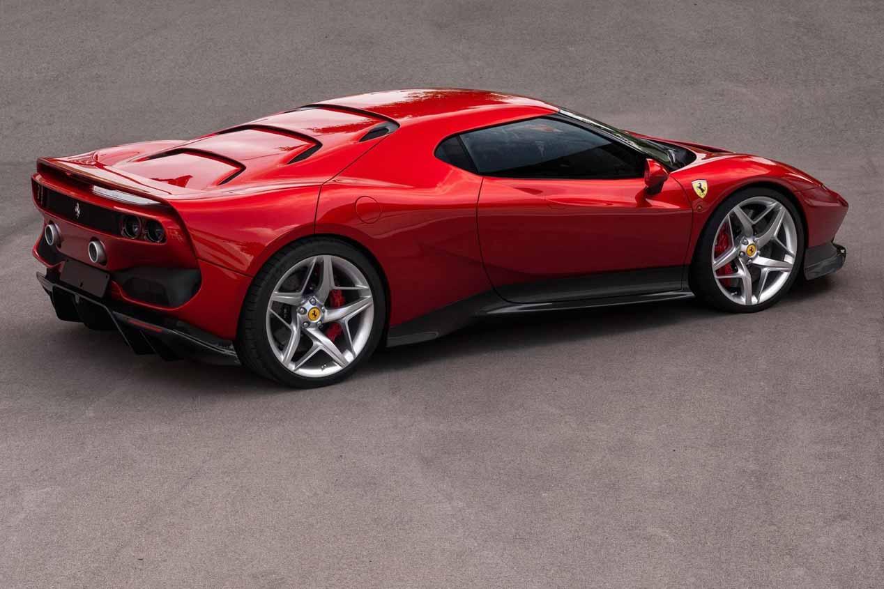 El Ferrari SP38, en imágenes
