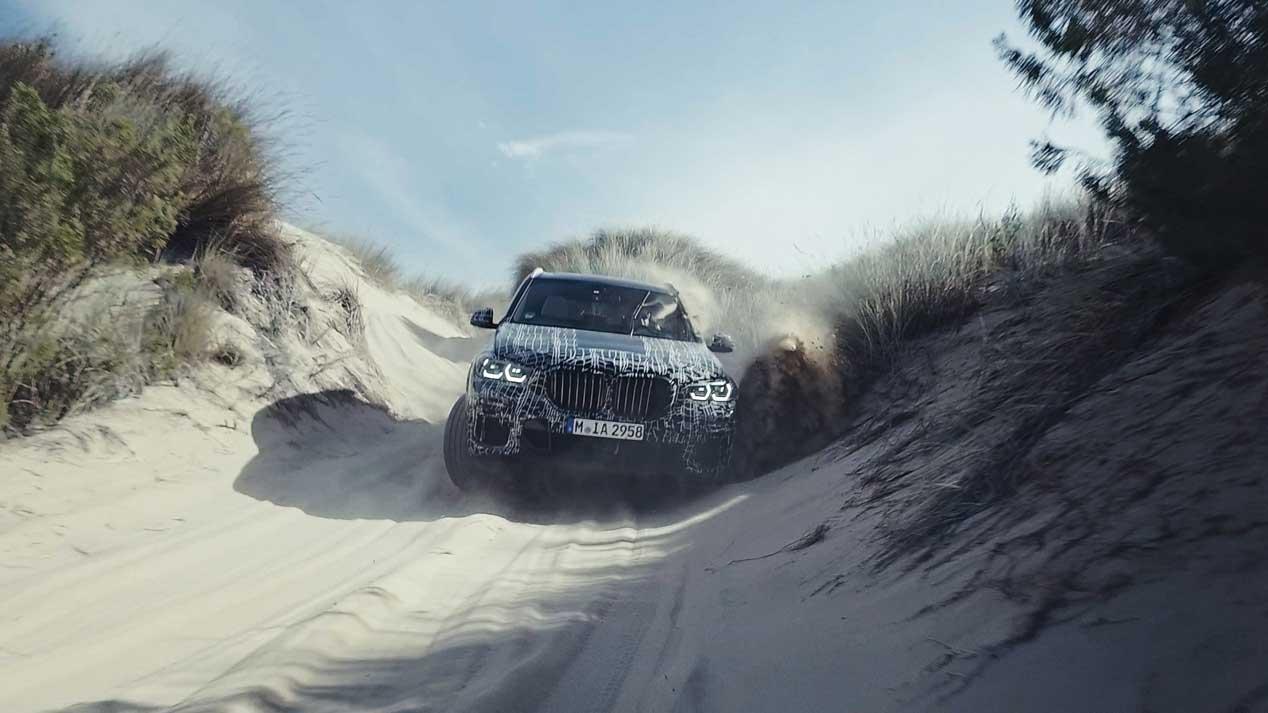 BMW X5 2019, a prueba a lo largo y ancho del mundo