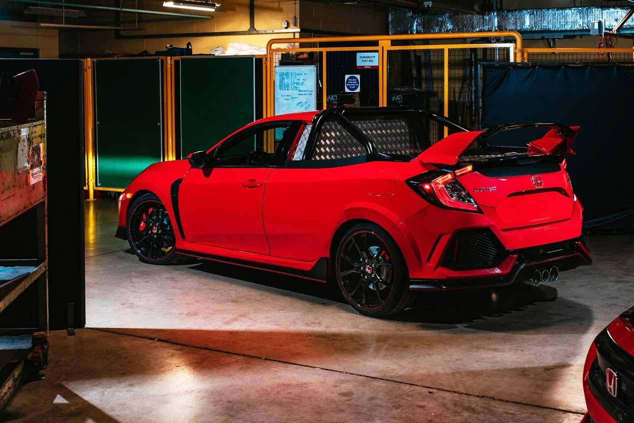 El Honda Civic Type R Pickup Truck Concept, en imágenes