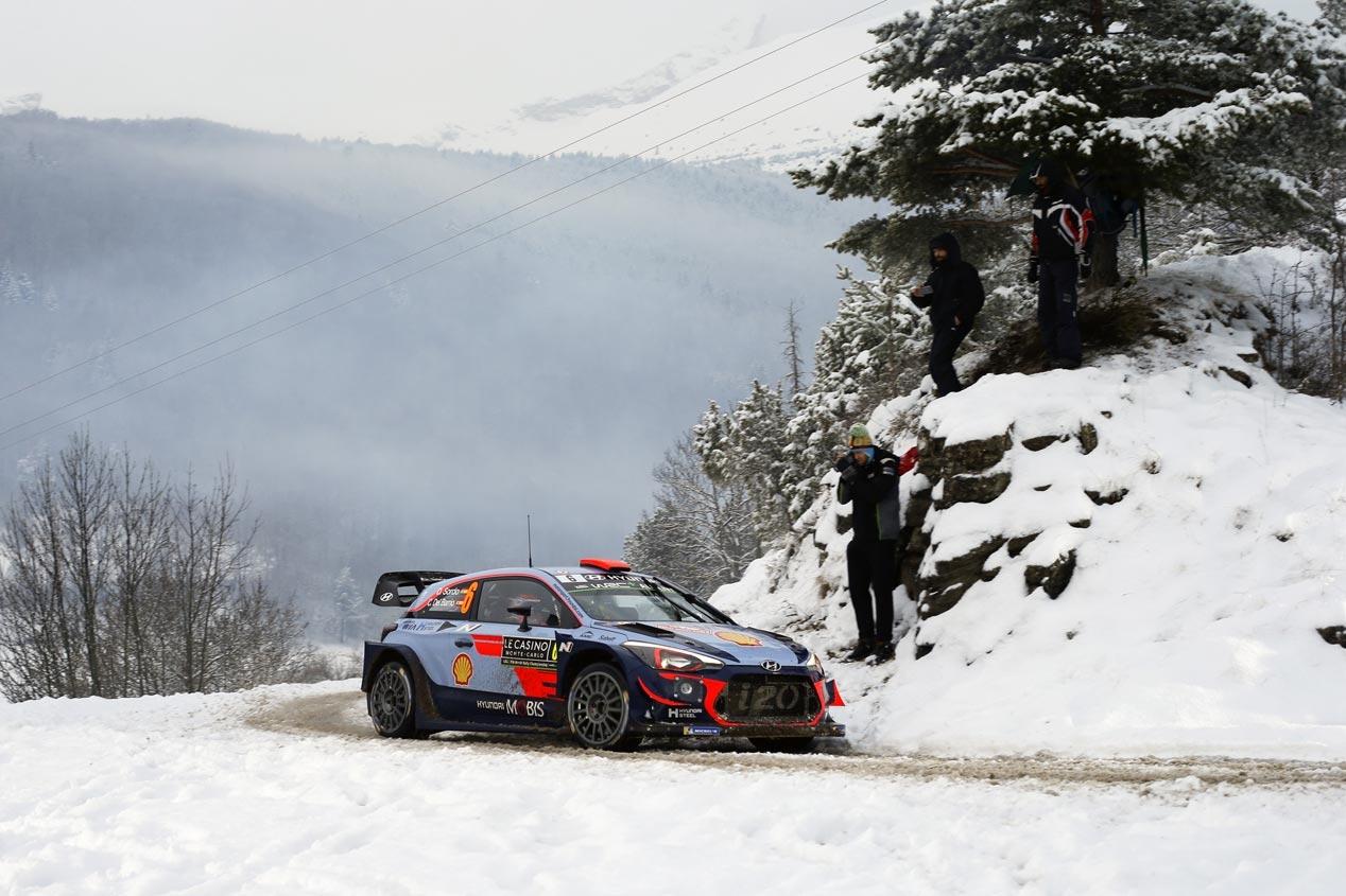 Hyundai, al frente del Mundial de Rallyes 2018
