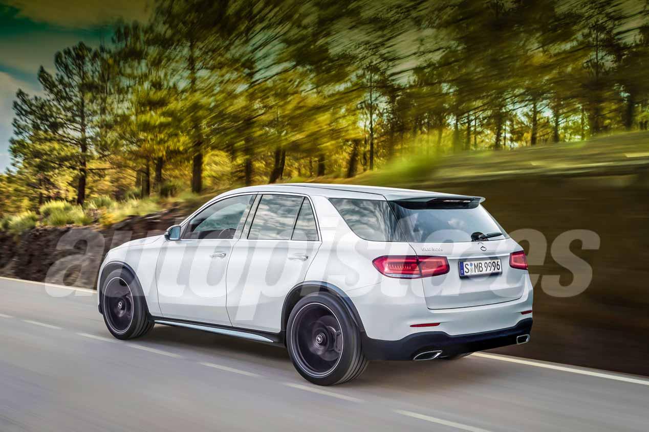 Mercedes GLE 2019: primeras imágenes del SUV de lujo
