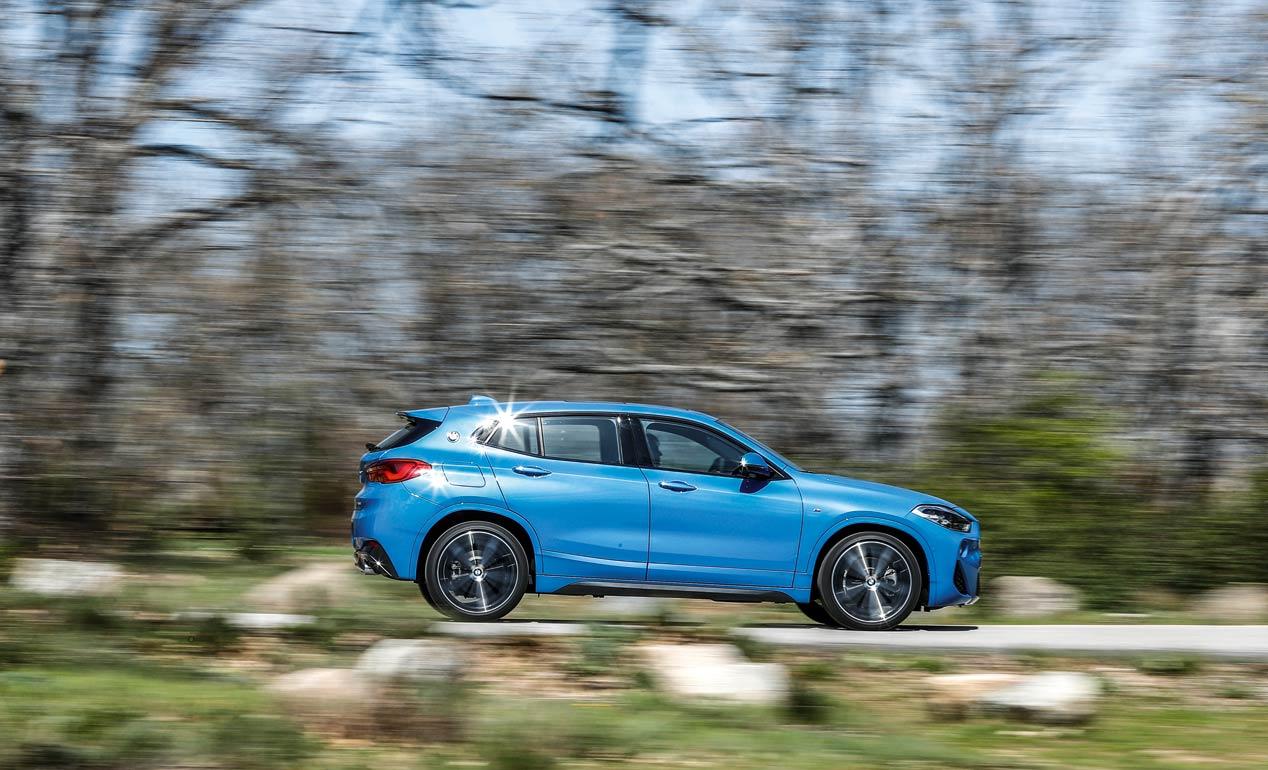 Comparativa: BMW X2 XDrive20DA vs Jaguar E-Pace 2.0D 4WD