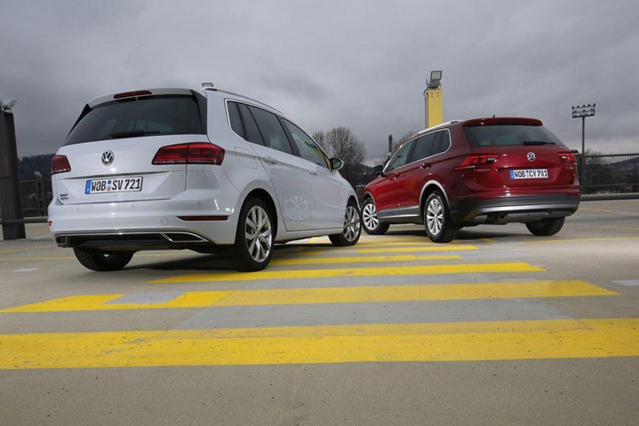 Comparativa: VW Golf Sportsvan 1.5 TSI vs VW Tiguan 1.4 TSI