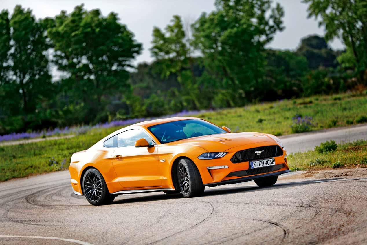 Probamos el Ford Mustang GT V8: todo un purasangre
