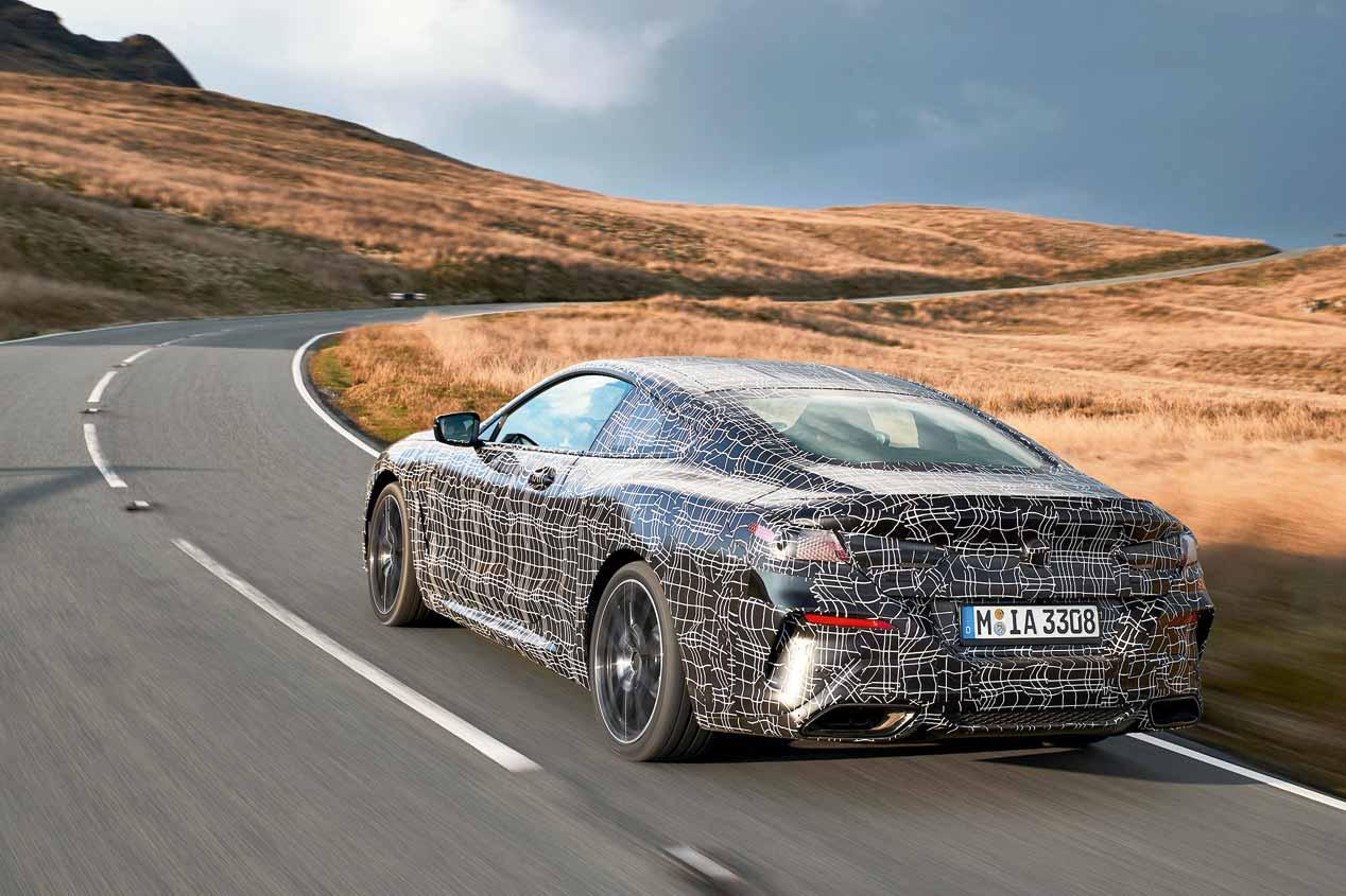 A prueba el BMW Serie 8 Coupé 2018