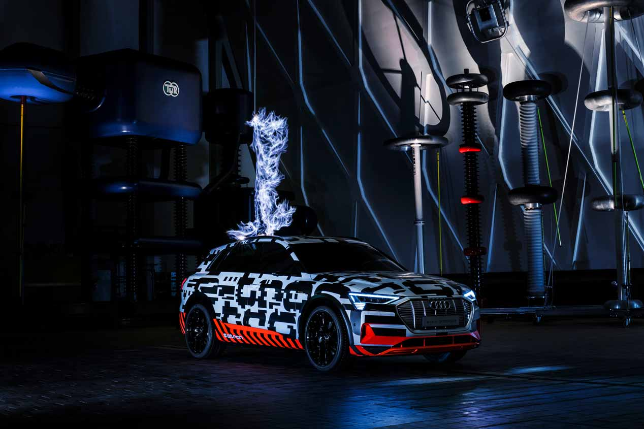 Audi E-tron: el SUV eléctrico, casi a punto
