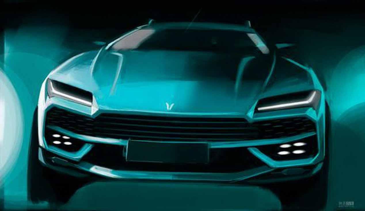 El Lamborghini Urus y su copia china, en imágenes