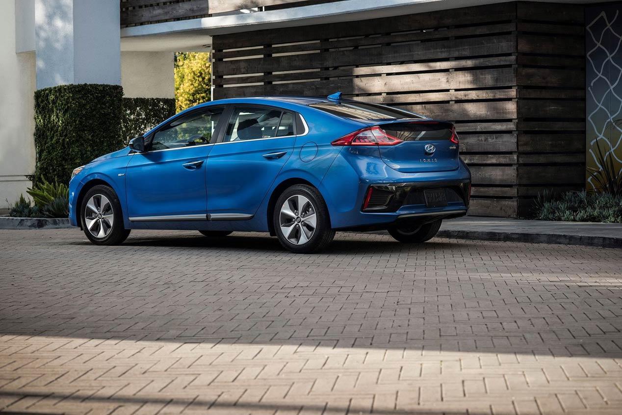 Hyundai Ioniq 2019, más tecnología a bordo