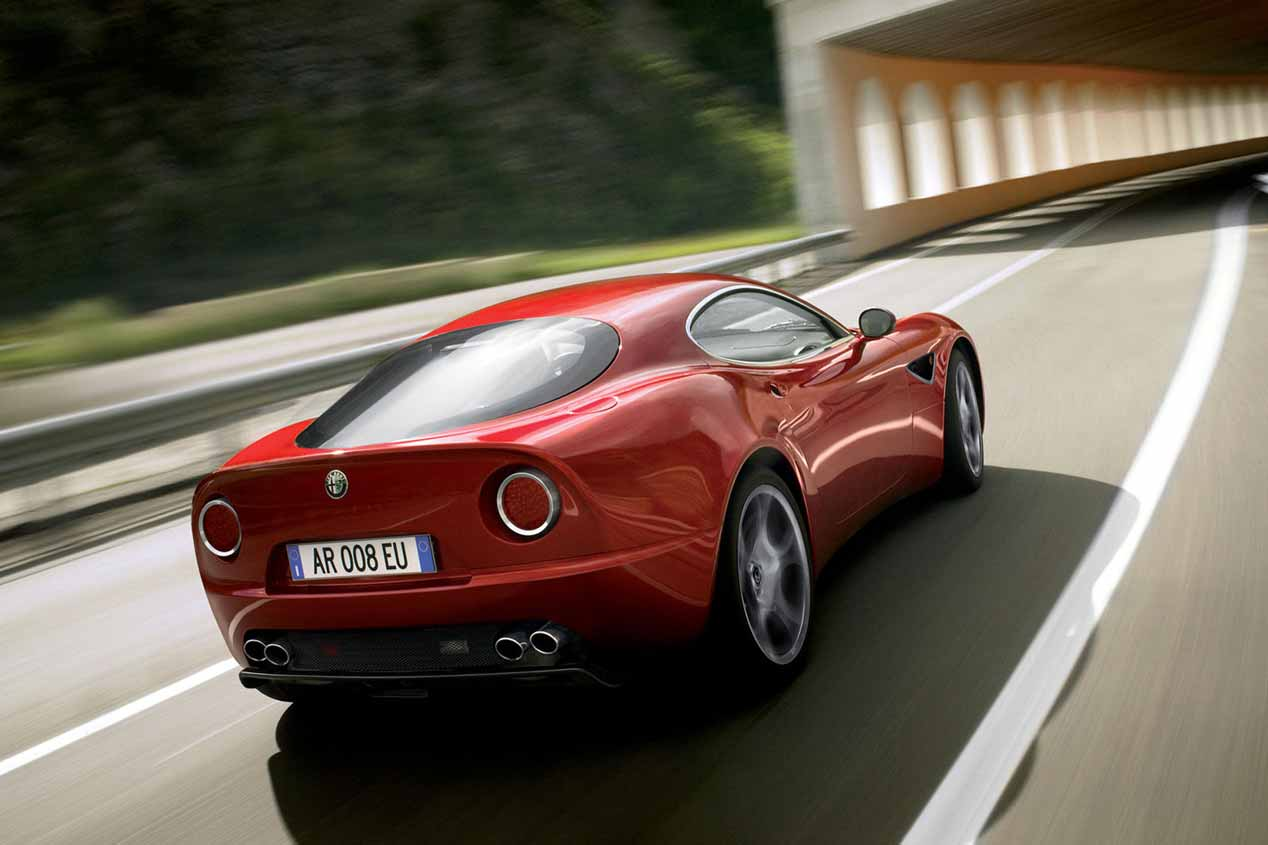 Alfa Romeo resucitará el 8C y el GTV
