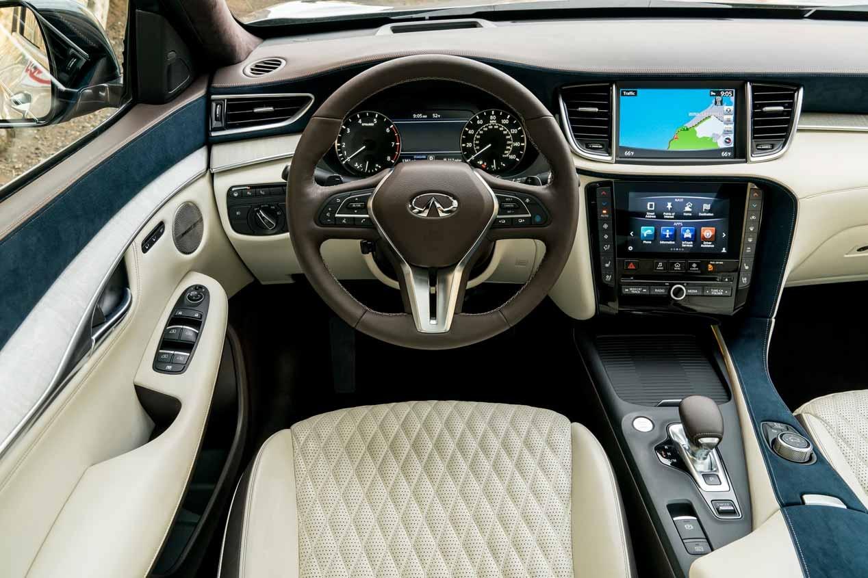Infiniti QX50, el nuevo coche de Stephen Curry