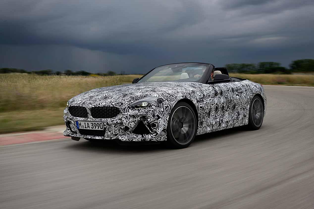 BMW Z4 2019: así será el nuevo deportivo, primeras imágenes