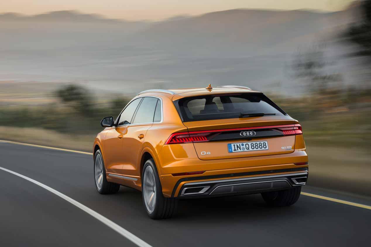 Audi Q8 2018: estas son las mejores imágenes oficiales del nuevo SUV