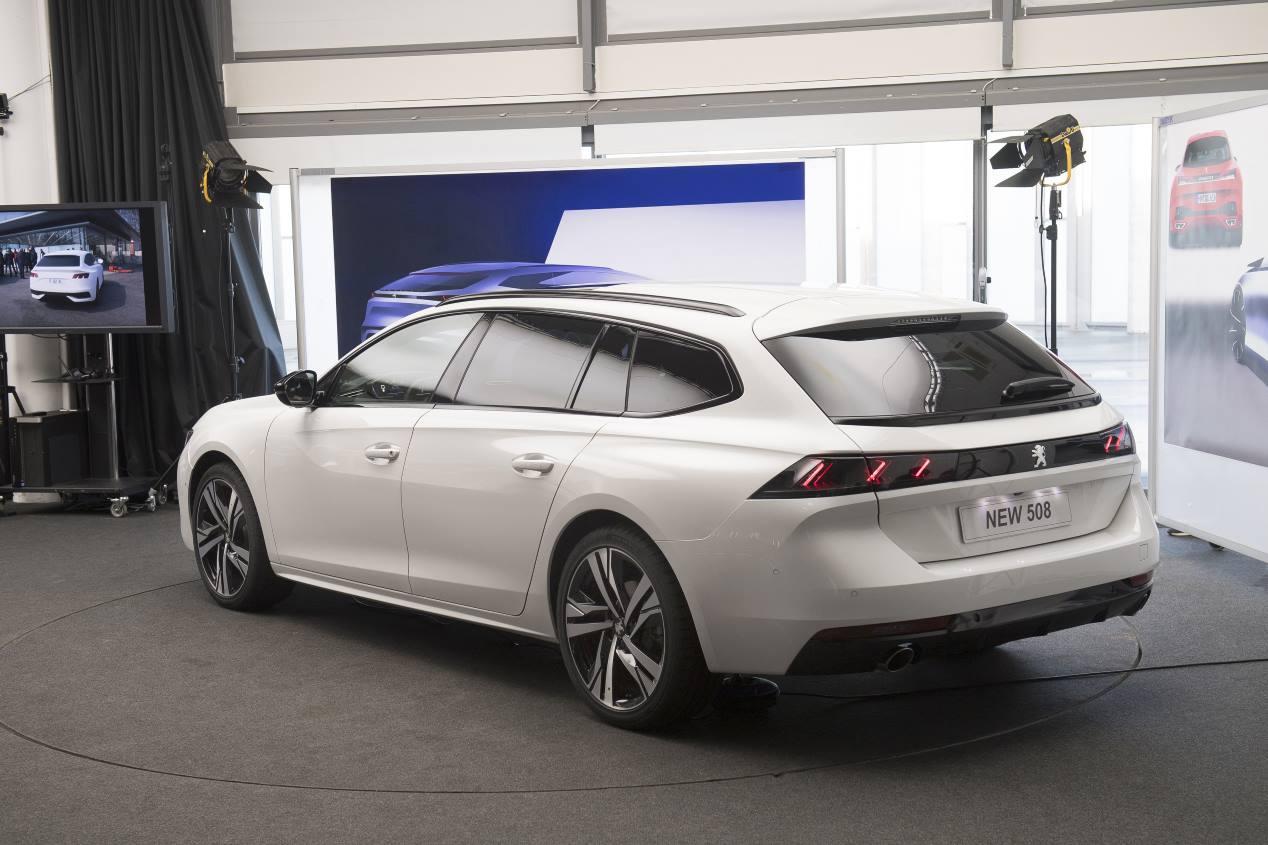 Peugeot 508 SW 2019: todas sus fotos oficiales