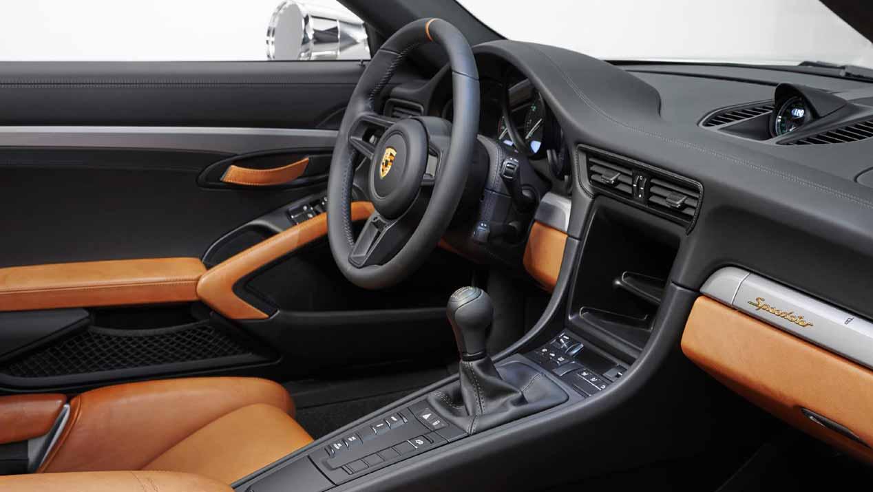 El Porsche 911 Speedster Concept, en imágenes