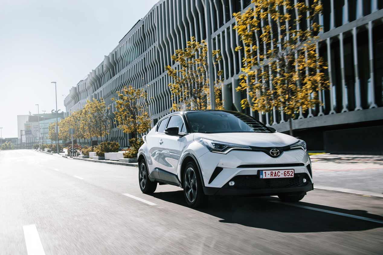 Toyota C-HR 2019: así se renueva el SUV