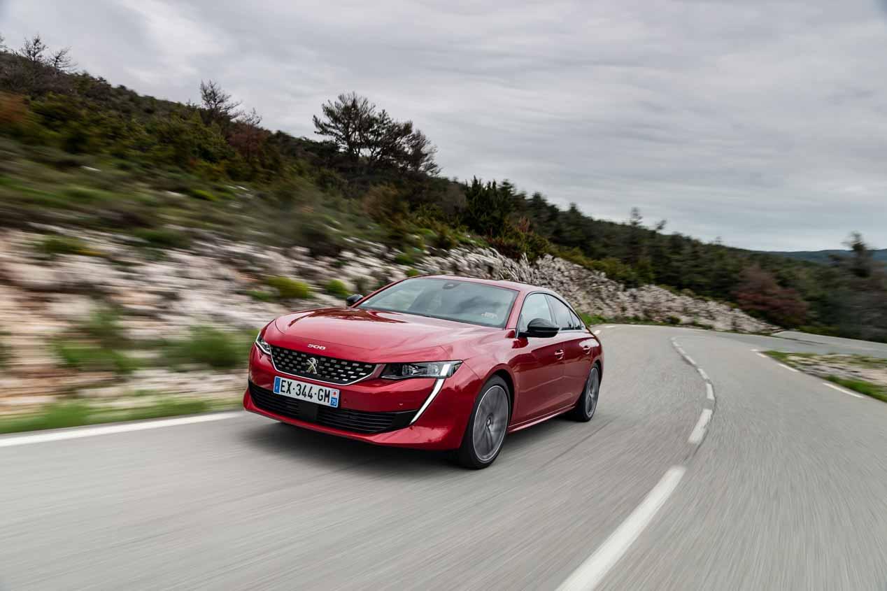 Peugeot 508 2018: las mejores imágenes (más de 50 fotos nuevas)