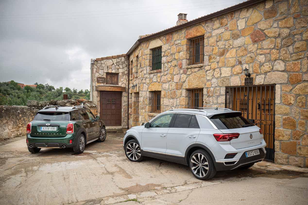 Comparativa: Mini Countryman vs Volkswagen T-Roc