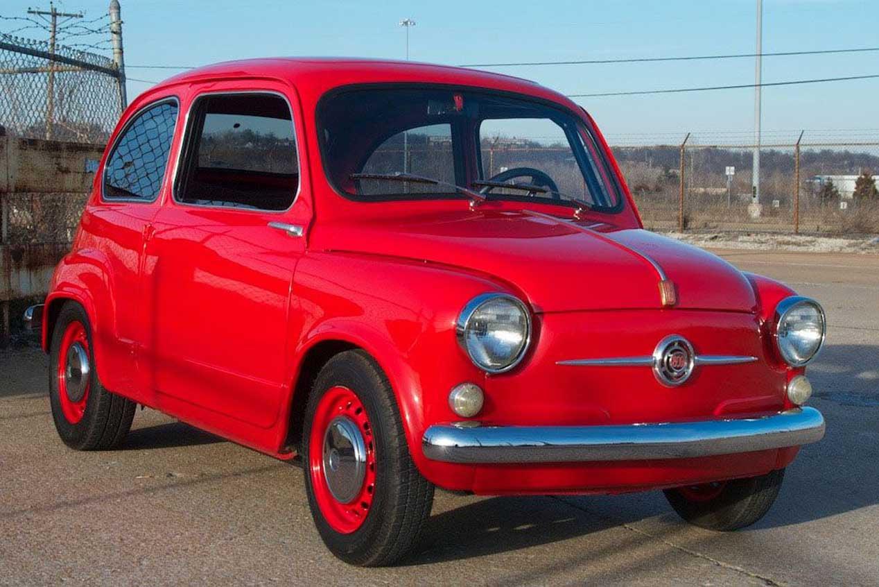Motor rotativo, 220 CV, 600 kg de peso... ¡En un Fiat 600!