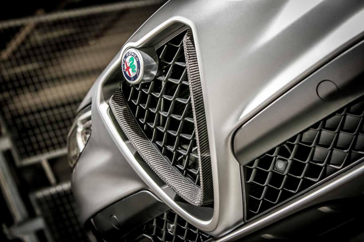 Alfa Romeo Giulia y Stelvio Quadrifoglio NRING, en imágenes