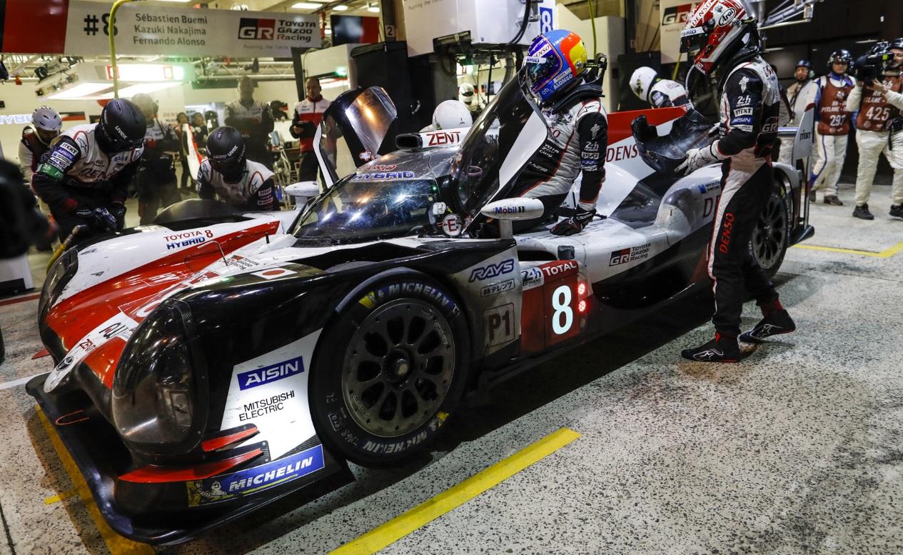 Los neumáticos Michelin en Le Mans, al descubierto