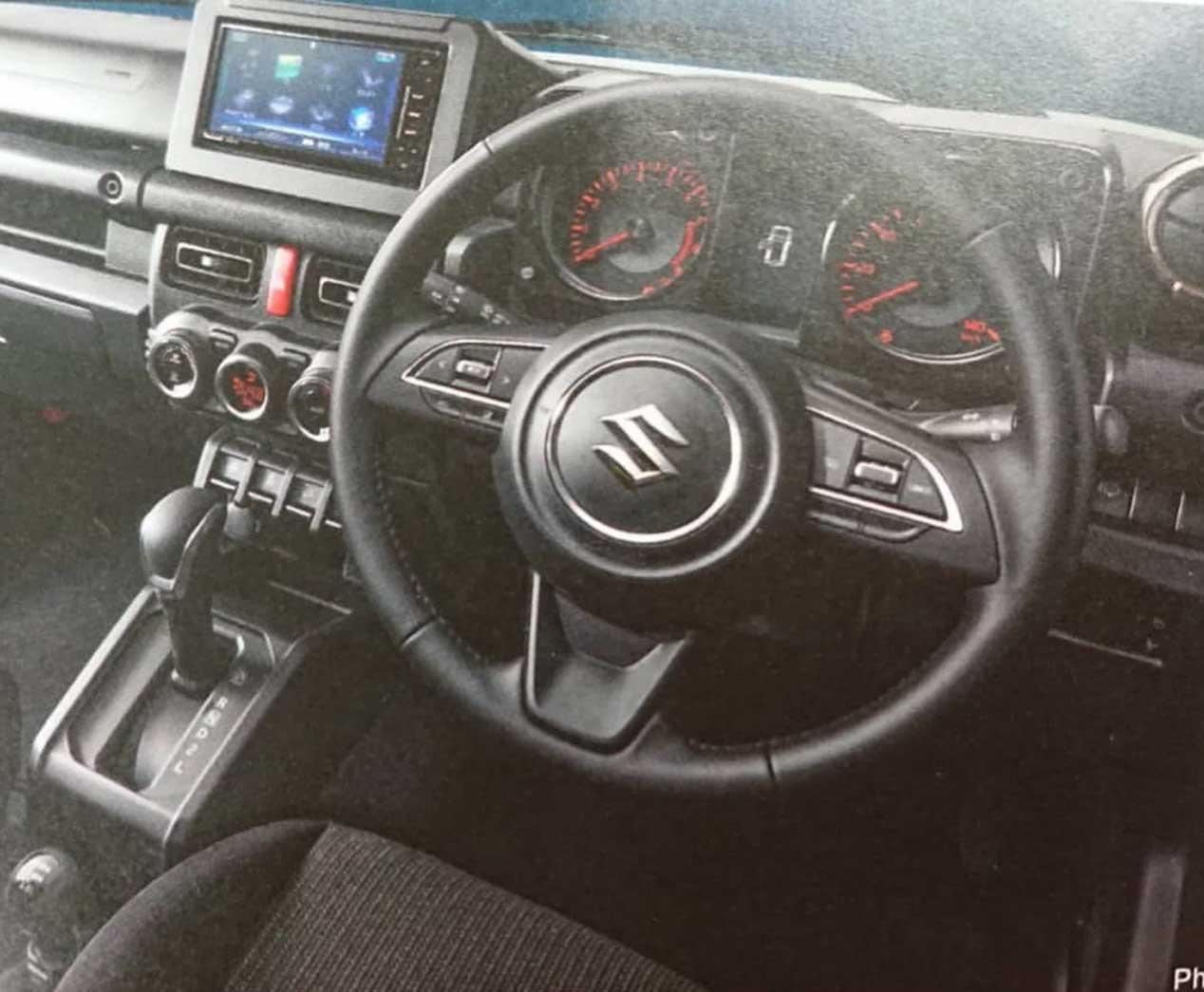 Suzuki Jimny, filtrado por un concesionario japonés