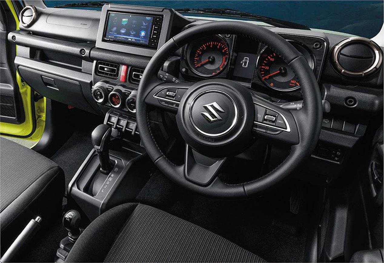 Primeras imágenes oficiales del Suzuki Jimny 2019