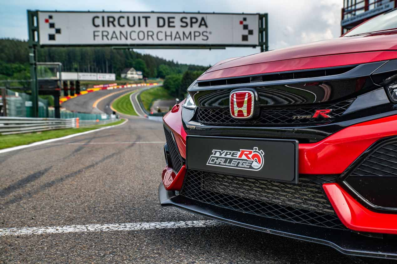 Honda Civic Type R: de récord en Spa-Francorchamps