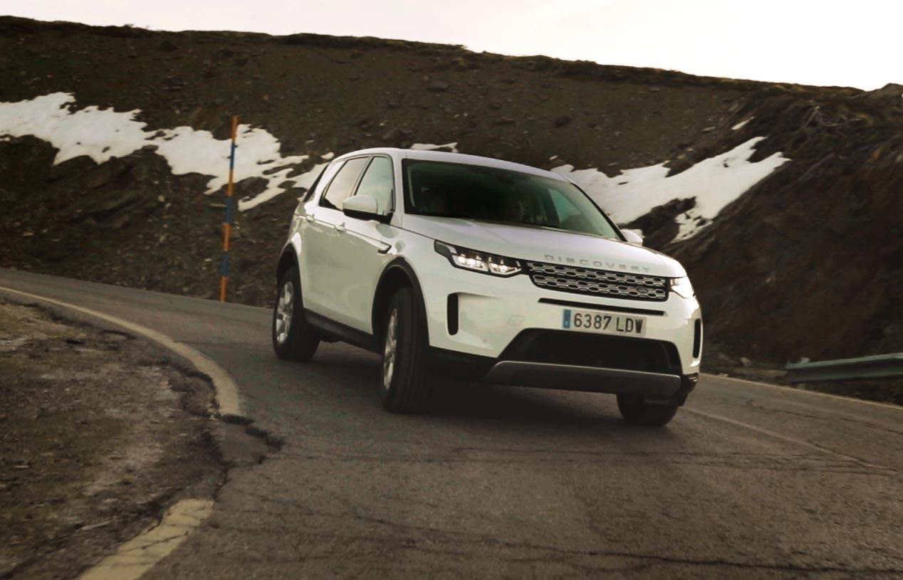 Un Land Rover con etiqueta ECO