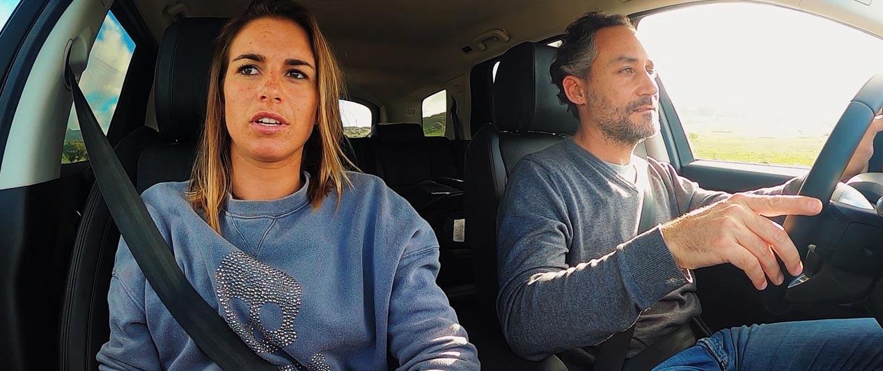 Land Rover Discovery Sport, con Blanca Alabau