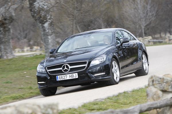 Mercedes CLS 350 la prueba