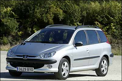 Peugeot 206 SW 1.6 110 CV XS