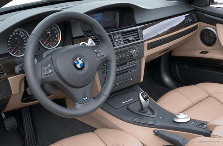 BMW M3 Cabrio: interiores