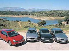Audi A6 TDI / BMW 530d / Renault Vel Satis dCi / Saab 9-5 TiD Arc