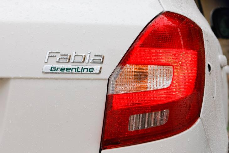 Skoda Fabia GreenLine al detalle
