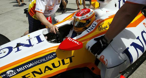 F1: La carrera de Alonso en Malasia