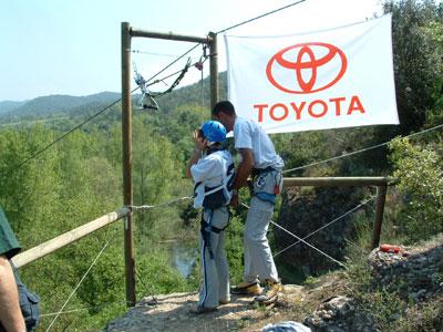 Pruebas de selección 5º Raid Toyota