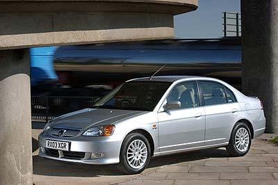 Honda Civic Ima, el más limpio.