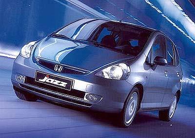 Honda Jazz Graphite, muy exclusivo.