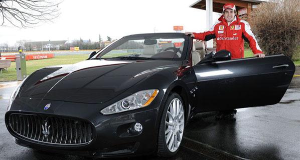 Los coches de los ases de la Fórmula 1