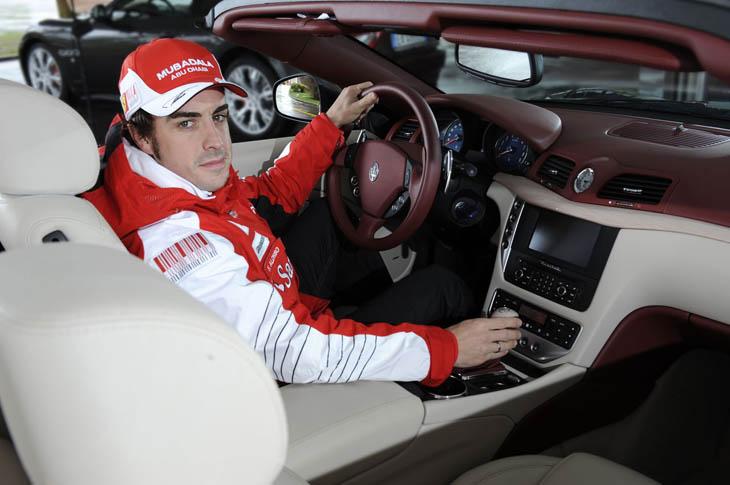 Los coches de calle de las estrellas de la Fórmula 1.